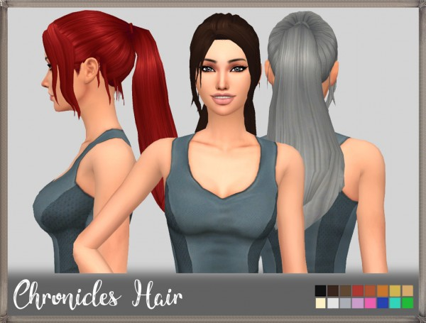 Mikerashi: Chronicles Hair for Sims 4