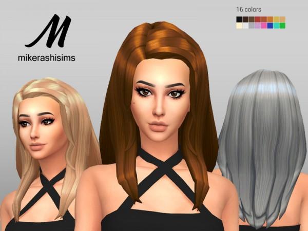 Mikerashi: Pause Hair for Sims 4