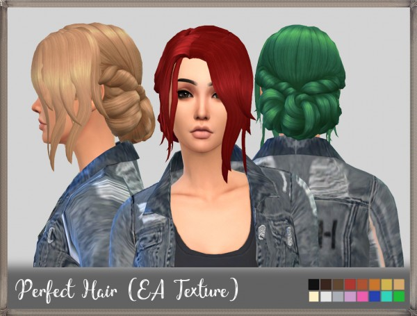 Mikerashi: Perfect Hair for Sims 4