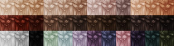 Miss Bunny Gummy: Hair dump pt 8 for Sims 4