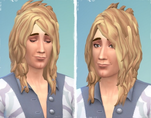 Birksches sims blog: Rod's Sailing Hair for Sims 4
