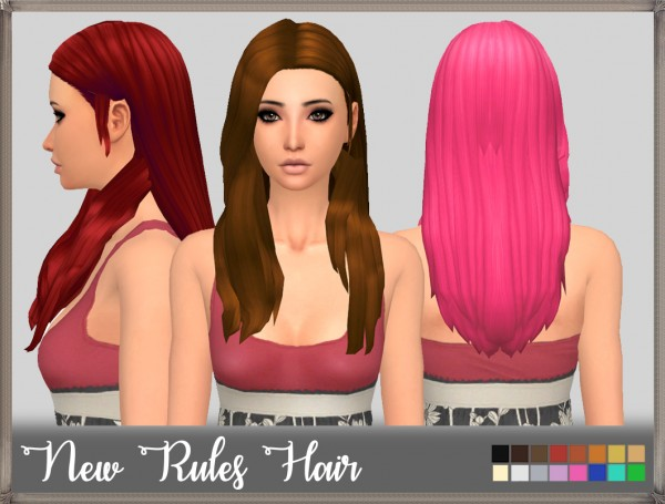 Mikerashi: New Rules Hair for Sims 4