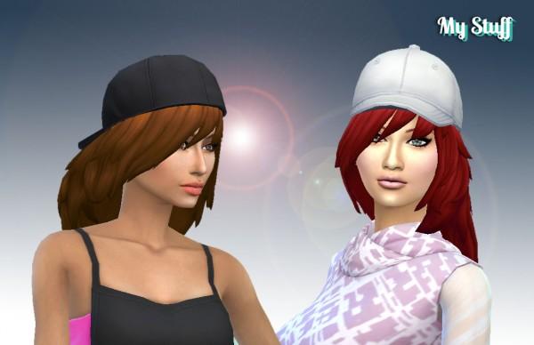 Mystufforigin: Clara Hair for Sims 4