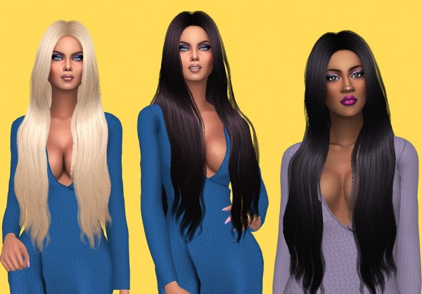 Sims Fun Stuff: Simpliciaty`s Giselle Retextured for Sims 4