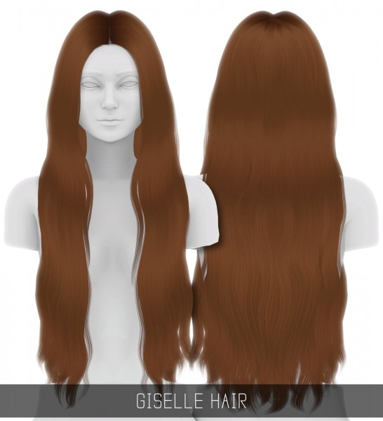 Simpliciaty: Giselle hair for Sims 4
