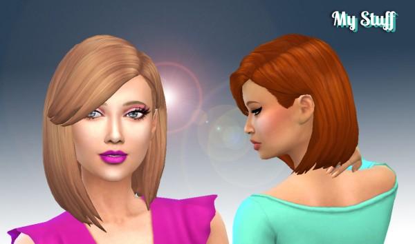 Mystufforigin: Innocence hair version 2 for Sims 4