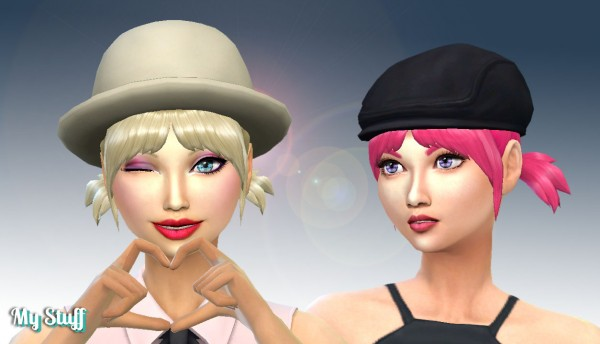 Mystufforigin: Playful Hairstyle for Sims 4