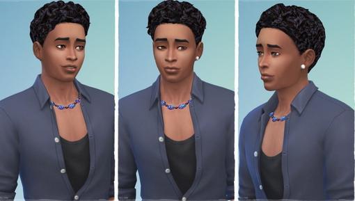 Birksches sims blog: Thiago Hair for Sims 4