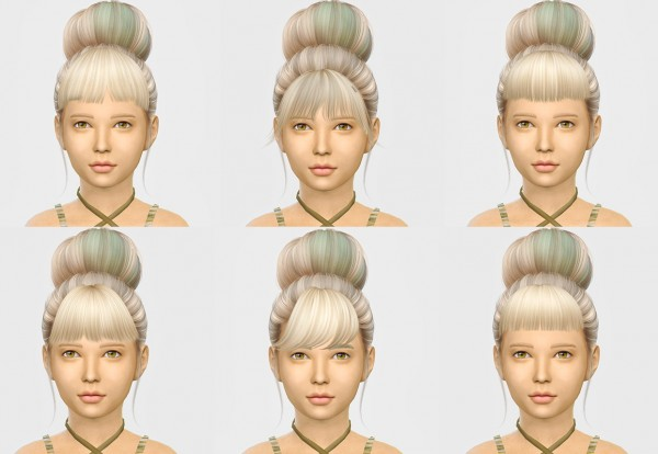 Simiracle: Bangs For Kids for Sims 4