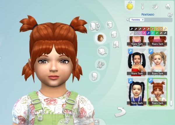 Mystufforigin: Playful Hair for Toddlers for Sims 4