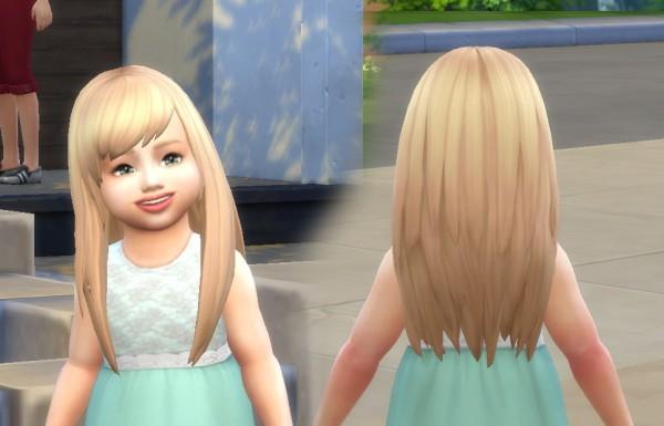 Mystufforigin: Helena Hair for Toddlers for Sims 4