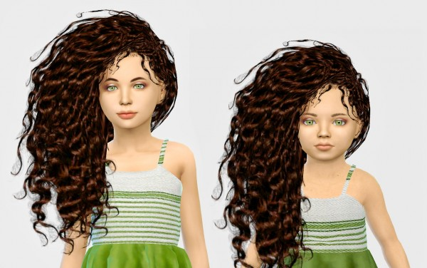 Simiracle: Gramssims Bellatrix hair retextured for Sims 4