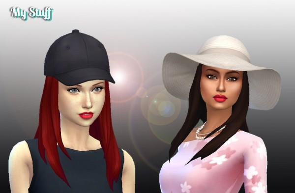 Mystufforigin: Rebecca hair retextured for Sims 4