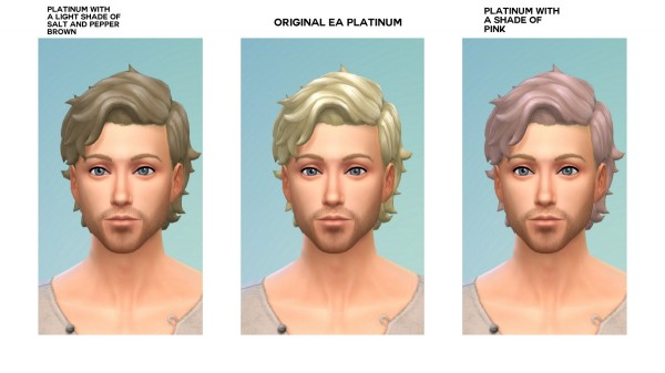 Mod The Sims: Maxis Hair Recolor Accessory by emile20 for Sims 4