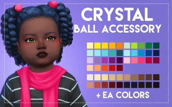 Simsworkshop: Crystal Hair by Weepingsimmer for Sims 4