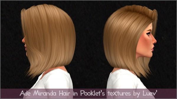 Mertiuza: Ade darma`s Miranda hair retextured for Sims 4