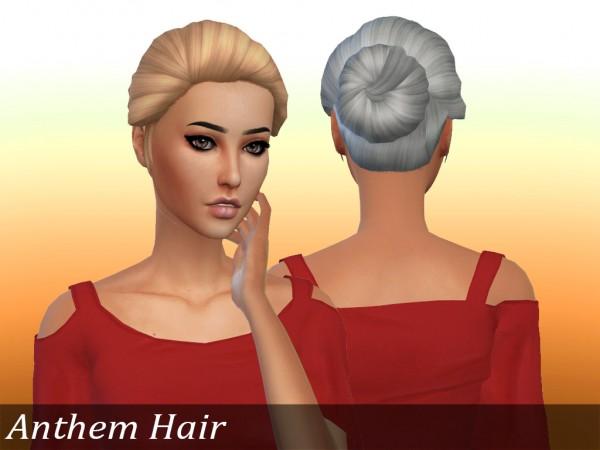 Mikerashi: Anthem Hair for Sims 4