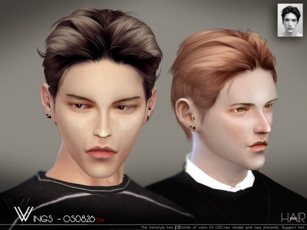 The Sims Resource: WINGS OS0826 for Sims 4
