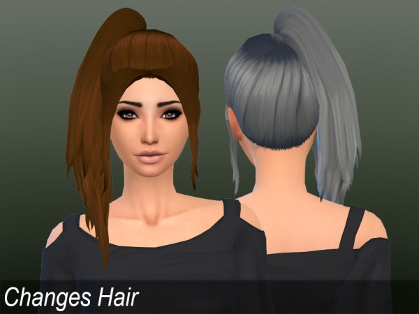 Mikerashi: Changes Hair for Sims 4