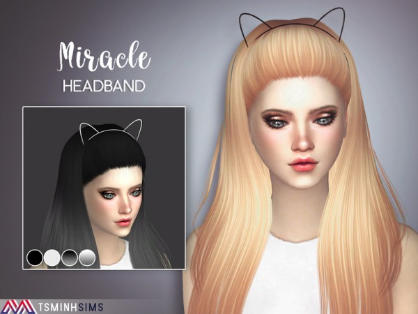 The Sims Resource: Miracle hair 40 by Tsminhsims for Sims 4