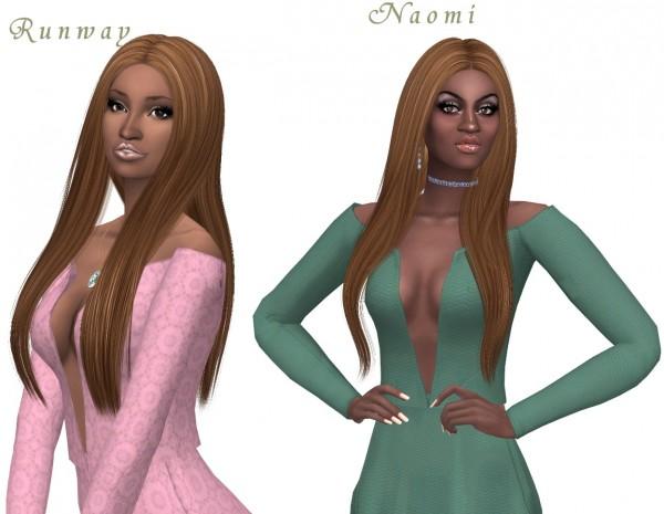 Sims Fun Stuff: Hair and bangs Part 2 for Sims 4