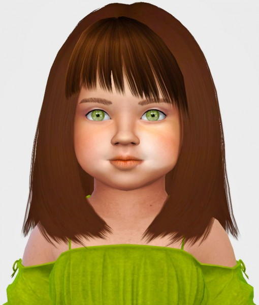 Simiracle: More Bangs For Toddlers for Sims 4