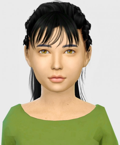 Simiracle: More Bangs For Kids for Sims 4