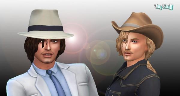 Mystufforigin: Michael Hair for Sims 4