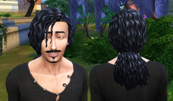 Mystufforigin: Michael Hair for Sims 4