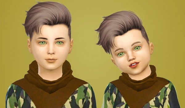 Simiracle: Ade Darma`s Craig hair retextured for Sims 4