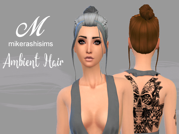 Mikerashi: Ambient Hair for Sims 4