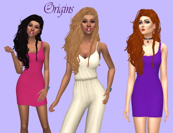 Sims Fun Stuff: Grafity hair recolored for Sims 4
