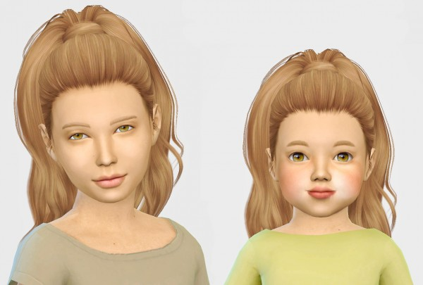 Simiracle: Simpliciaty`s Devonne hair retextured for Sims 4