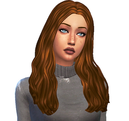 Choco Sims: Cazy`s Taylr hair retextured for Sims 4