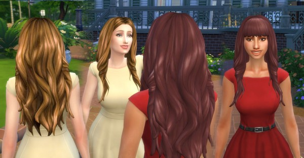 Mystufforigin: Emma Hair Recolor for Sims 4