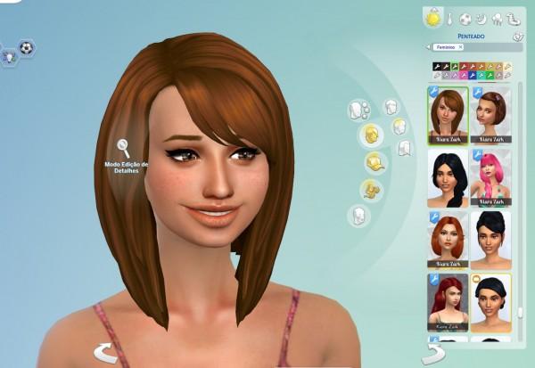 Mystufforigin: Ellie Hair for Sims 4