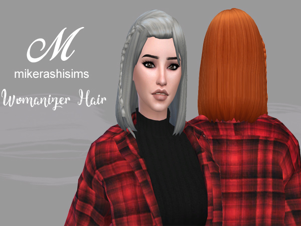 Mikerashi: Womanizer Hair for Sims 4