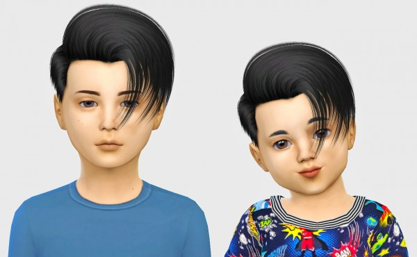Simiracle: Ade Darma`s Toni hair retextured for Sims 4