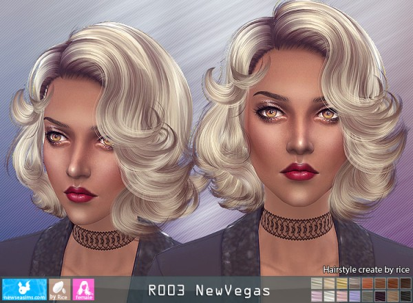 NewSea: R003 NewVegas hair for Sims 4