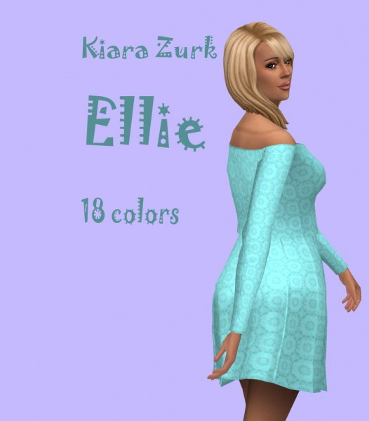Sims Fun Stuff: Beatrix, Camila, Ellie, Layla and Taurie hairs retextured for Sims 4