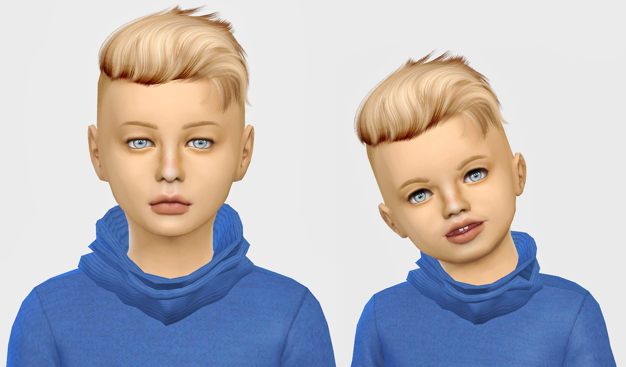 Sims 4 Hairs Simiracle Wings Os0917 Hair Retextured
