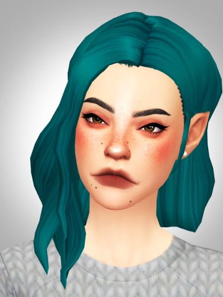 Kismet Sims: Honeymoon hair for Sims 4