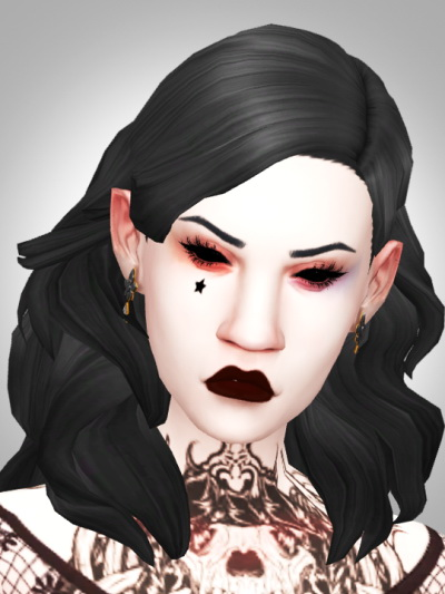 Kismet Sims: Heresy hair for Sims 4