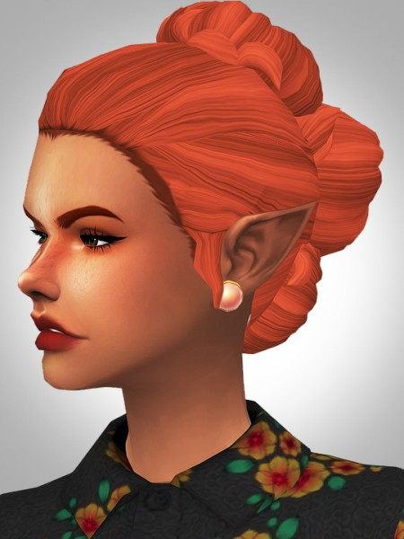 Kismet Sims: Cecilia hair for Sims 4