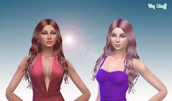 Mystufforigin: Miriam Hair for Sims 4