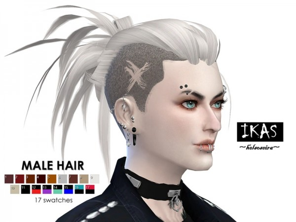 The Sims Resource: IKAS   Hairs recolored by Helsoseira for Sims 4