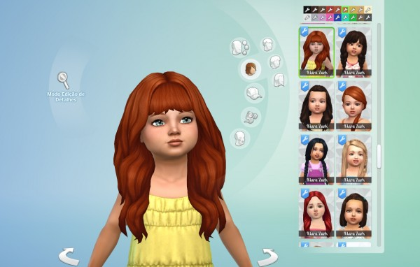 Mystufforigin: Calm Wind hair retextured for Toddlers for Sims 4