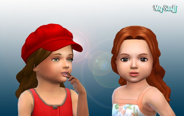 Mystufforigin: Lonely Hair for Toddlers for Sims 4