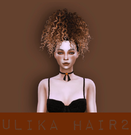 UliKa: Hair converted 2 for Sims 4