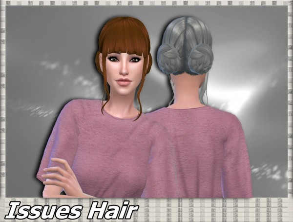 Mikerashi: Issues Hair for Sims 4